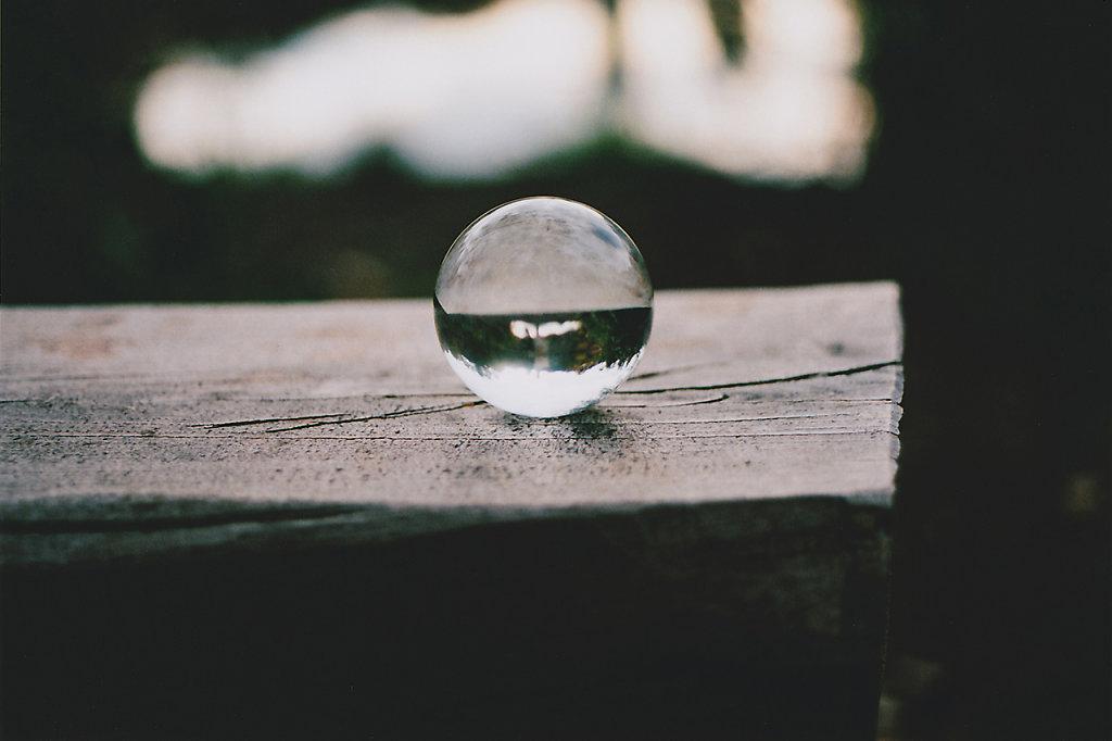 Glaskugel in Dammsmühle