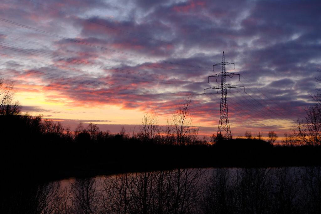 Eching sunset II