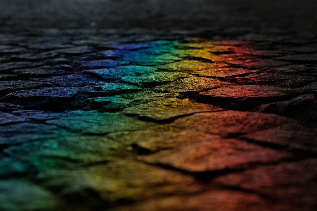 Colours on cobblestone