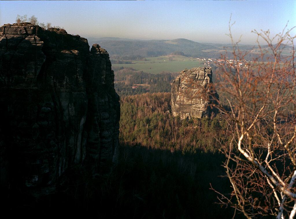 Blick vom Gipfel I