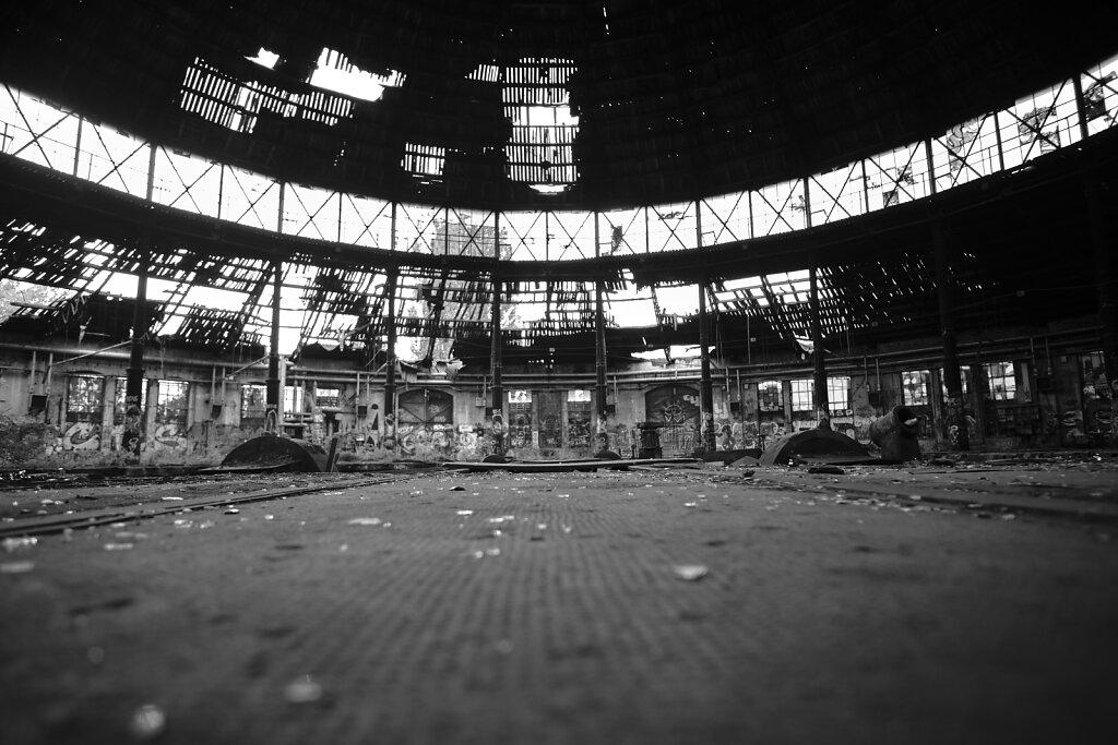 Inside Halls I