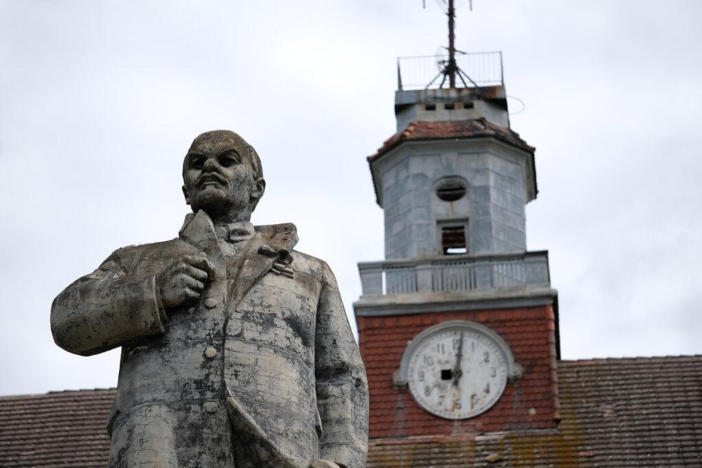 Lenin Close Up